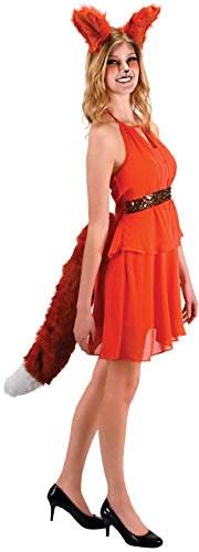 Deluxe Black Cat Tail Adult Costume Accessory NEW One Size