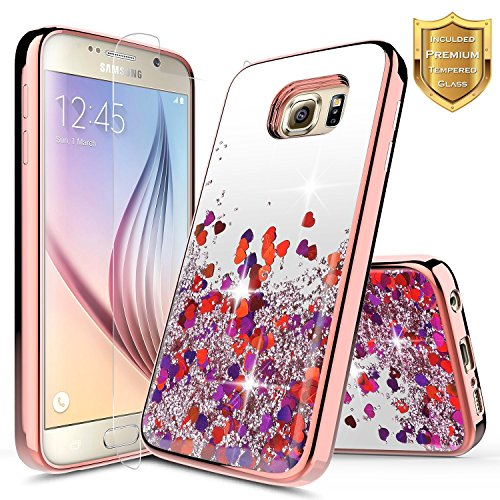 Galaxy Note 5 Liquid Case with HD Screen Protector for Girls