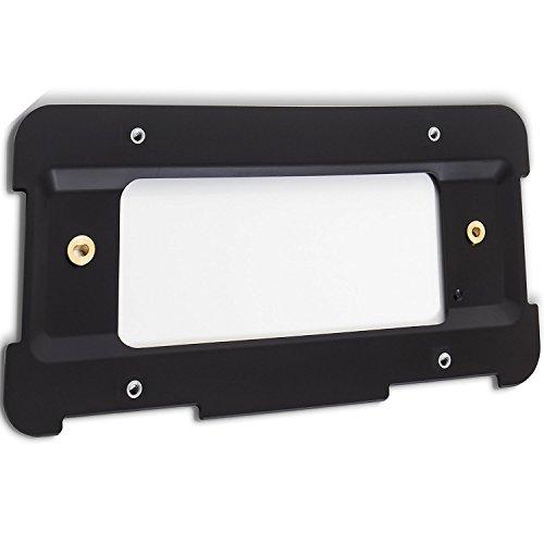 BMW Black License Plate Frame w/ Black Caps – Yosoca