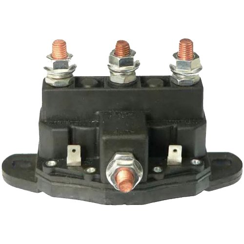 12V 500A Winch Solenoid Relay- with Powder Coated Finish ... Ramsey Diagram Wiring Winch Mrvb on